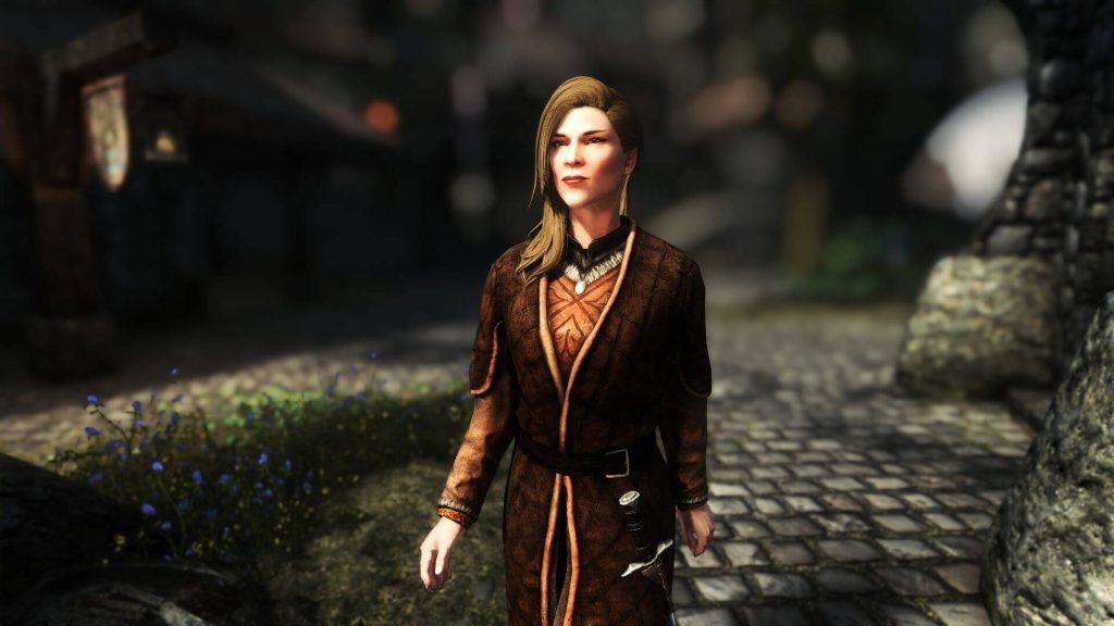 Мод для Skyrim полностью меняет текстуры одежды и украшений