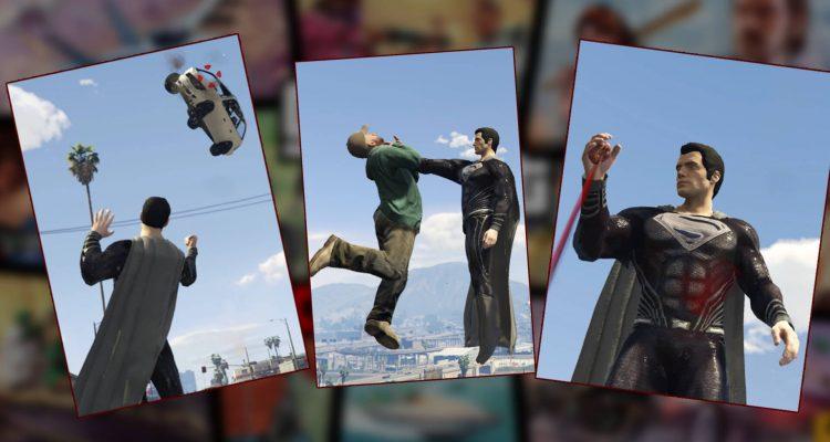 Невероятный мод на супермена для GTA 5 уже доступен для скачивания