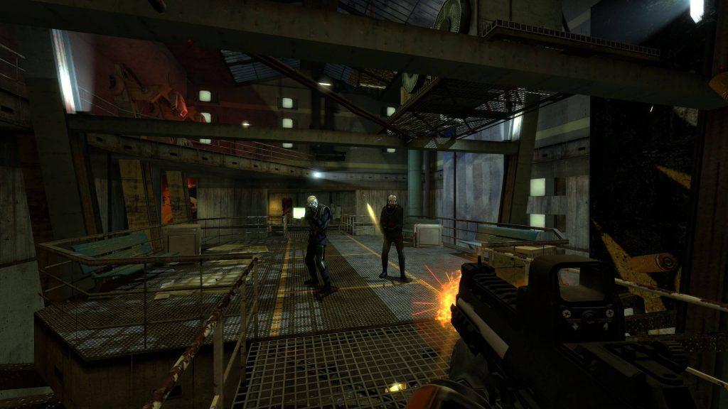 Half Life 2: Raising the Bar Redux Division официально доступен