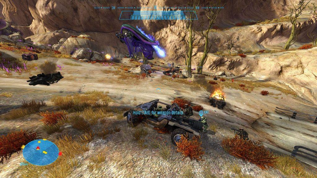 Мод на Halo: Reach, добавит в игру более двух десятков единиц вооружения, транспорта и врагов