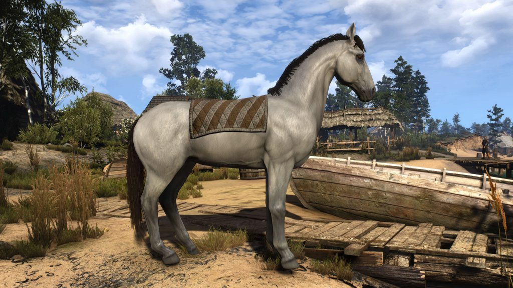 Мод для Ведьмак 3, добавляющий переработанные текстуры животных