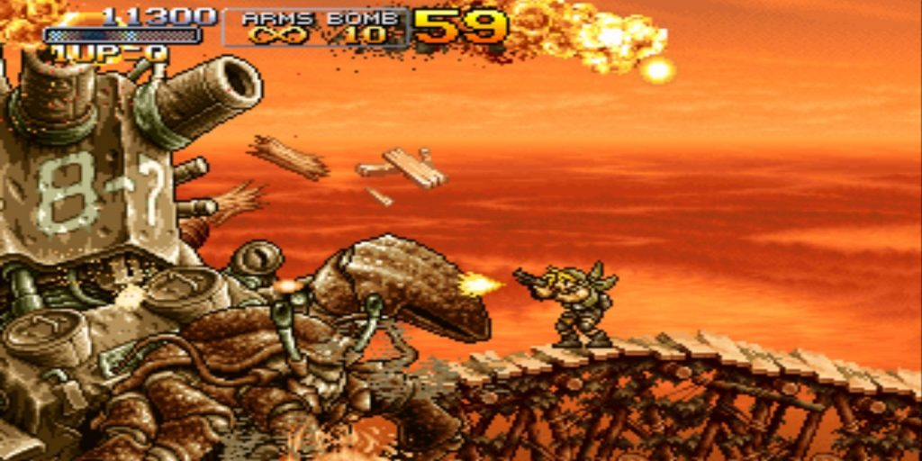 10 лучших игр серии Metal Slug