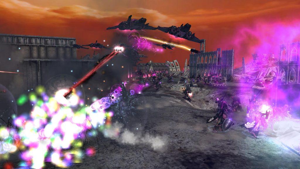 Мод для Dawn of War: Soulstorm добавляет в игру 17 новых фракций