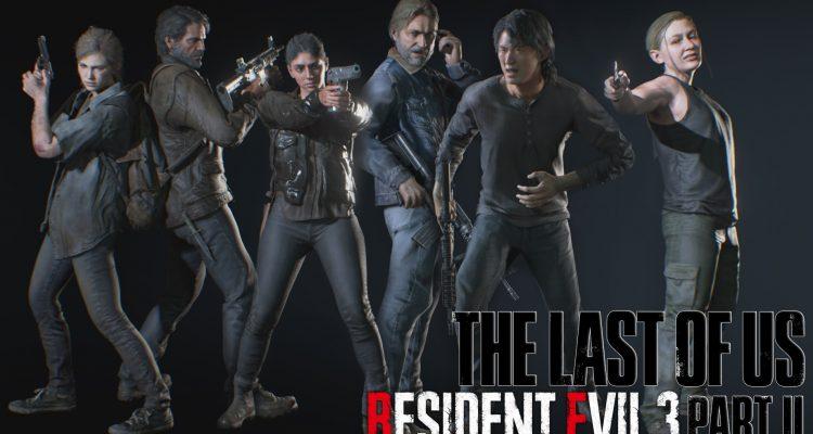 Мод переносит основной состав The Last of Us Part 2 в Resident Evil 3