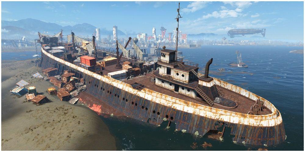 10 самых захватывающих локаций в Fallout 4