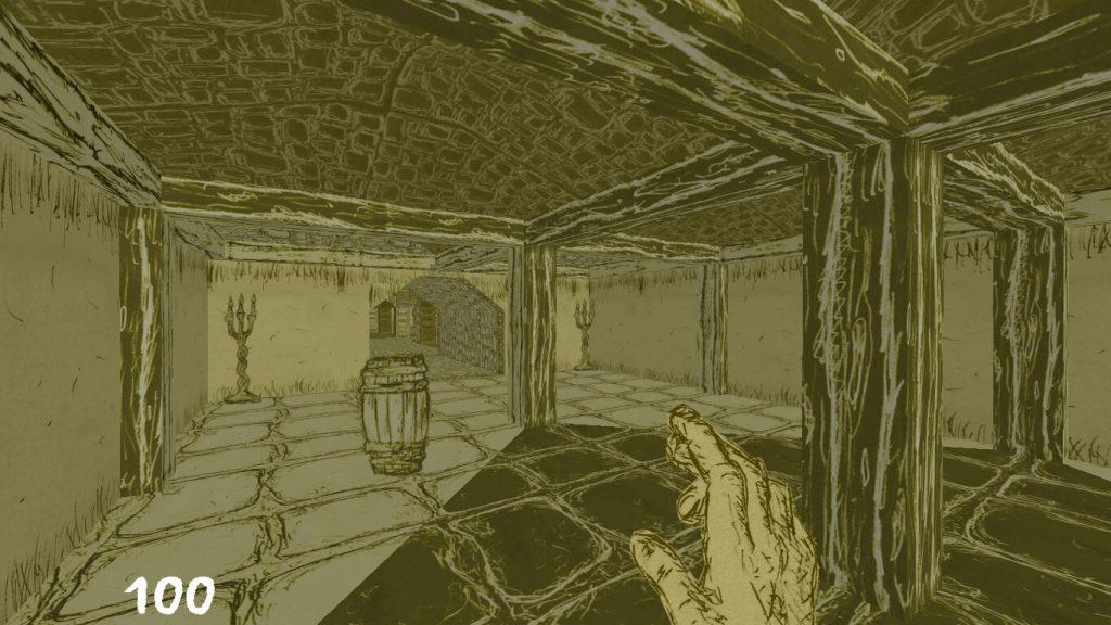 He Came From Beyond – мод для Doom 2, сделанный из стикеров