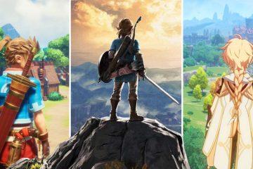 10 игр с открытым миром на PlayStation, похожих на Zelda