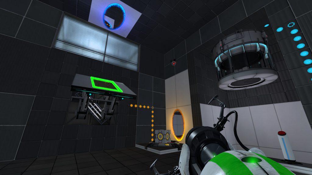 Мод для Portal 2 добавляет третий портал для путешествий во времени