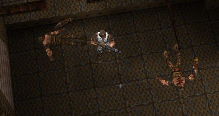 Мод позволяет играть в Quake с видом сверху