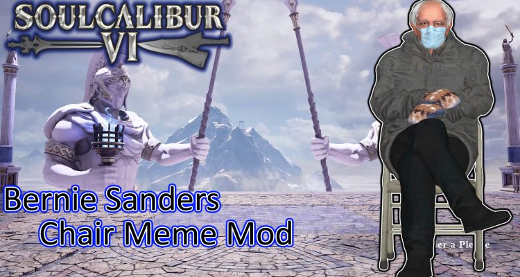 Мод для Soulcalibur 6 позволяет расправиться с Геральтом, играя Берни Сандерсом