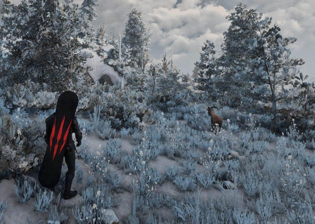 Мод для Witcher 3 превращает Геральта в сноубордиста