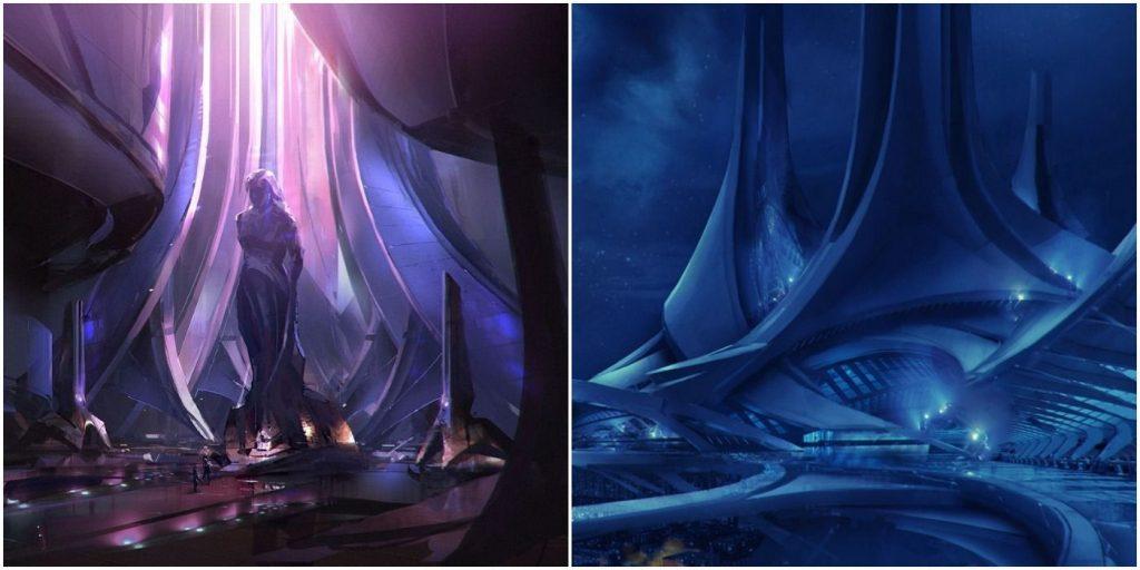 10 самых красивых локаций в Mass Effect Legendary Edition