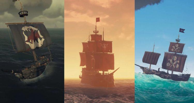 Какой корабль в Sea Of Thieves лучше – бригантина, шлюп или галеон?