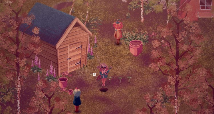 The Garden Path - уютный симулятор жизни, который выглядит так, будто сошёл с картины