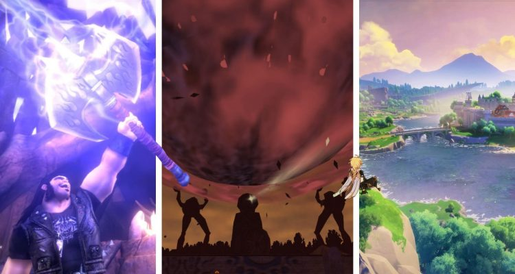 10 лучших игр в жанре исекай
