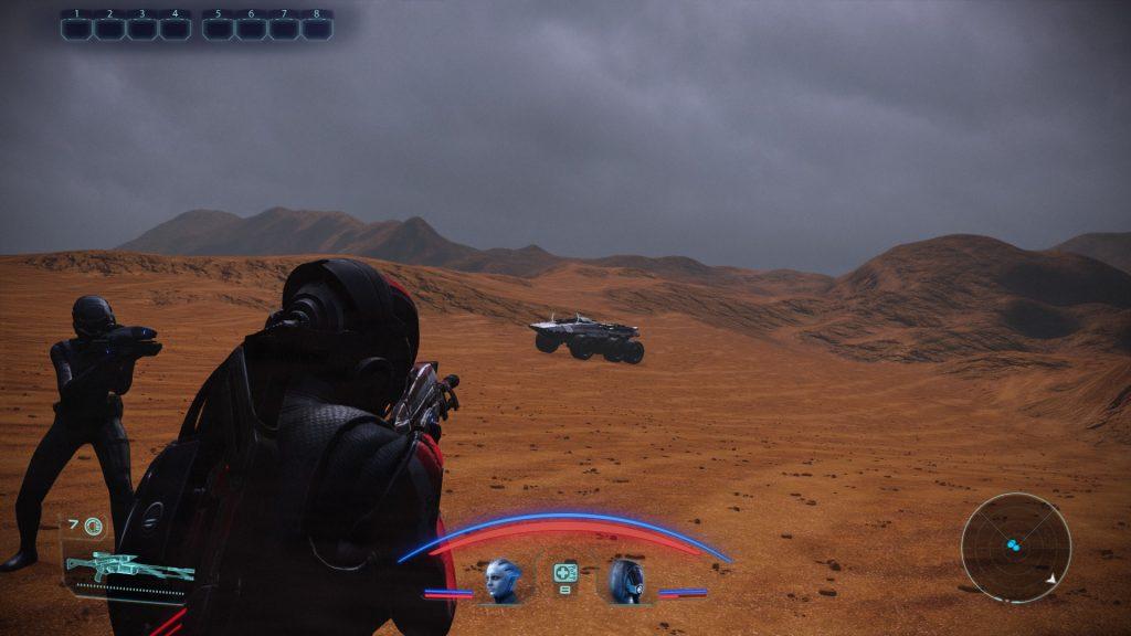Мод для ремастера Mass Effect отключает акселерацию мыши