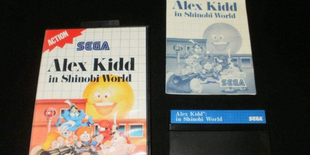 Alex Kidd In Shinobi World [синяя этикетка] - $150