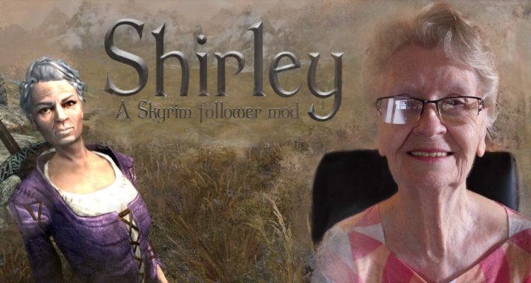 У «скайримовской бабушки» Ширли Карри теперь есть собственный мод