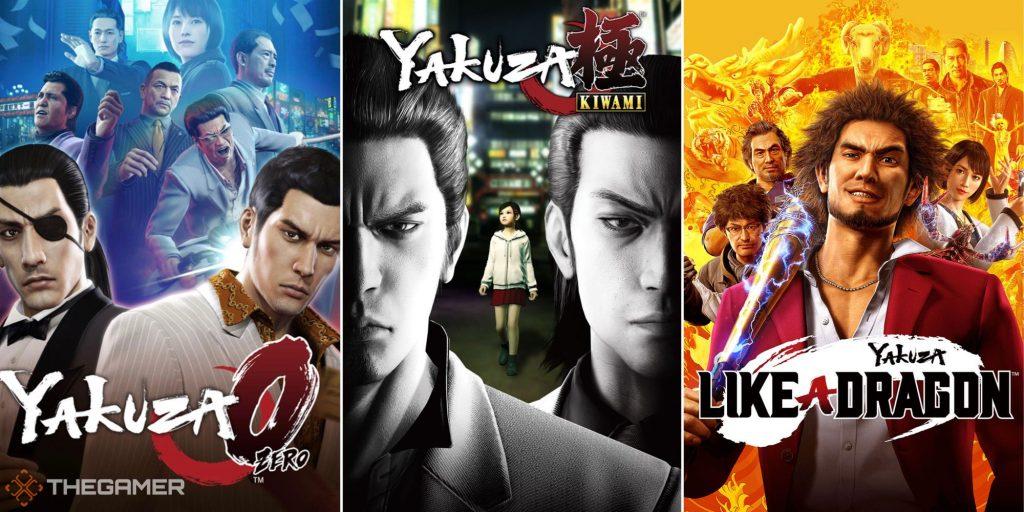 В каком порядке проходить серию Yakuza?