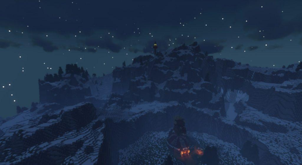 Игрок в майнкрафт полностью воссоздал карту Breath of the Wild