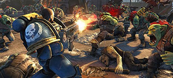 А вы играли в... Warhammer 40,000: Space Marine?