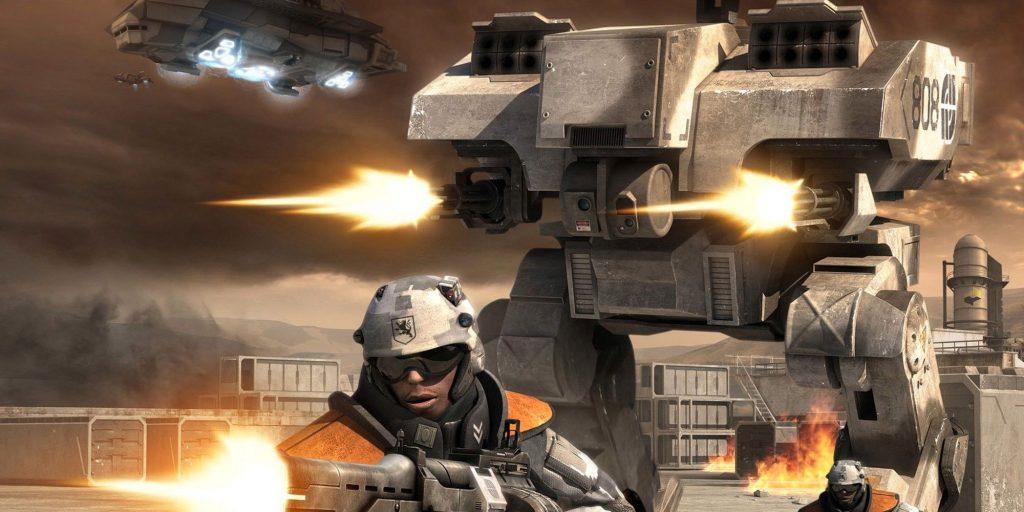 T-39 Богатырь и L5 «Ужасный» - Battlefield 2142