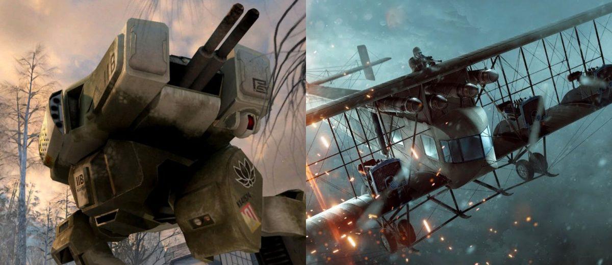 10 лучших транспортных средств в играх Battlefield