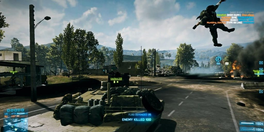 M1 «Абрамс» - Battlefield 3