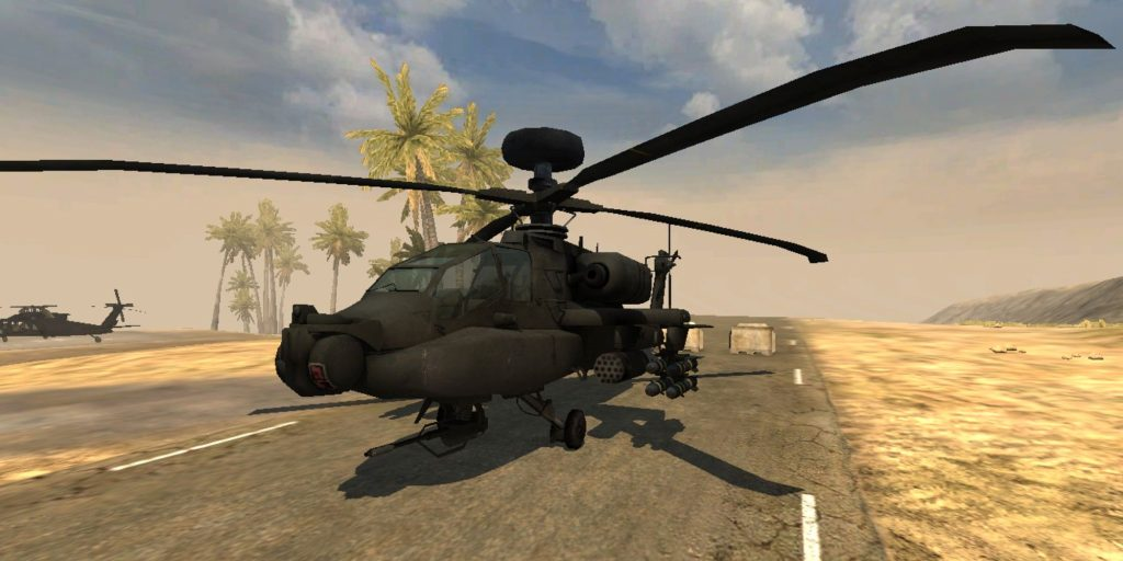 AH-64 «Апач» - Battlefield 2