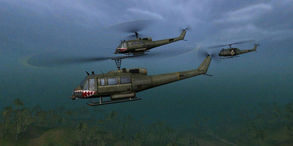 UH-1 «Хьюи» - Battlefield Vietnam