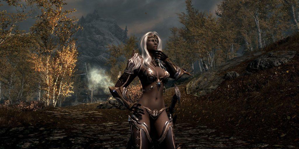 Viconia DeVir For Skyrim