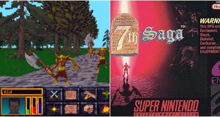 10 классических RPG, в которые сейчас проблематично играть