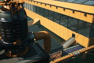Обновление 5 для Satisfactory добавит вагон и маленькую тележку декоративных и структурных компонентов